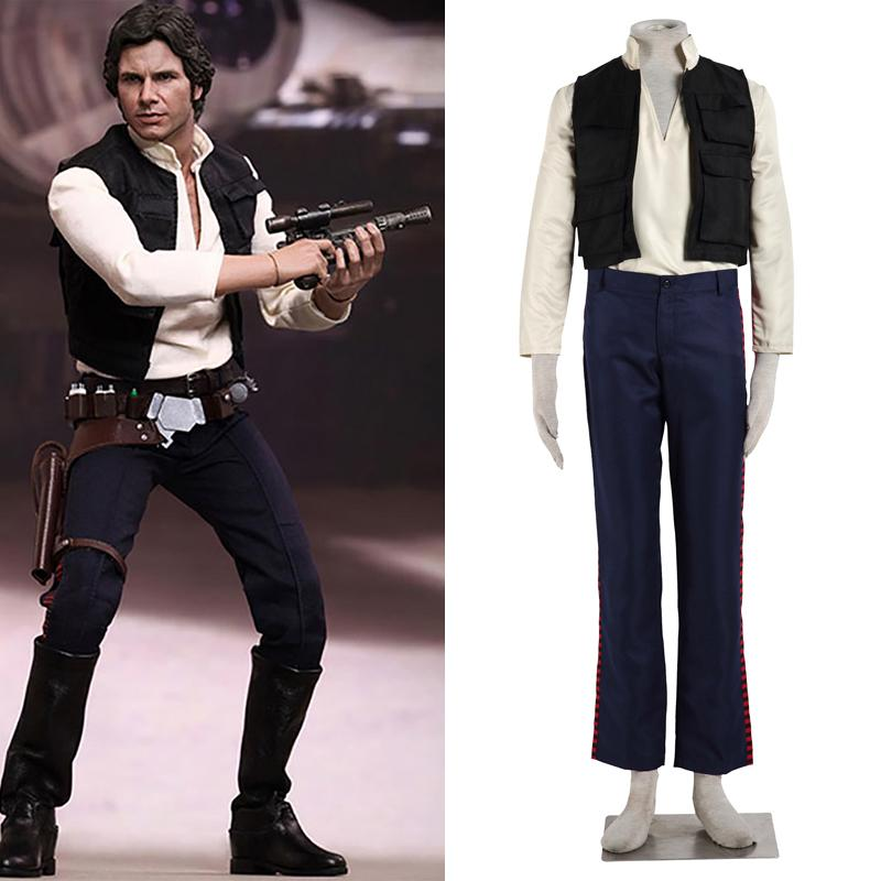 Han Solo Costume Adult Star Wars Halloween Fancy Dress