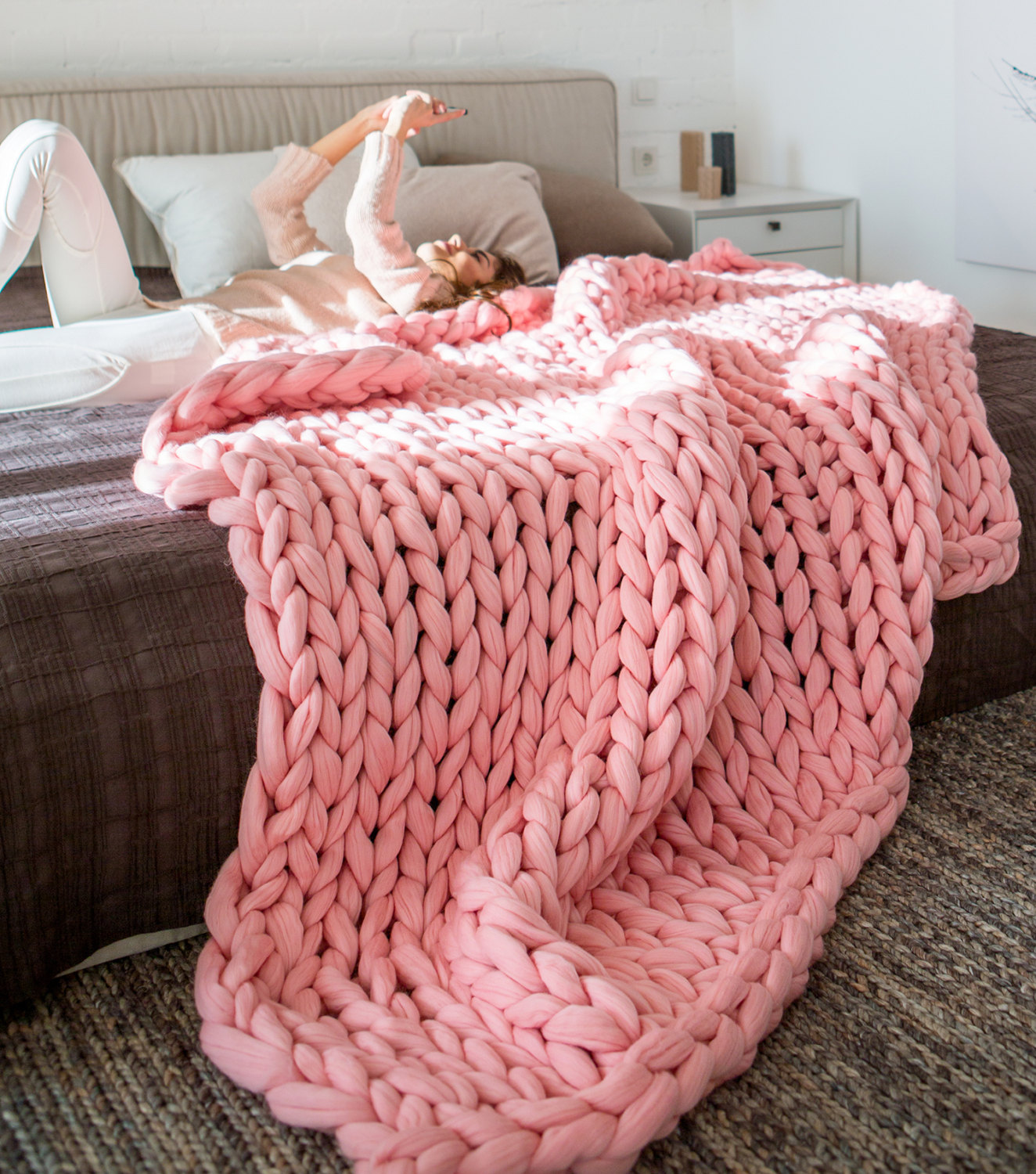 Yarn Knitted Blankets