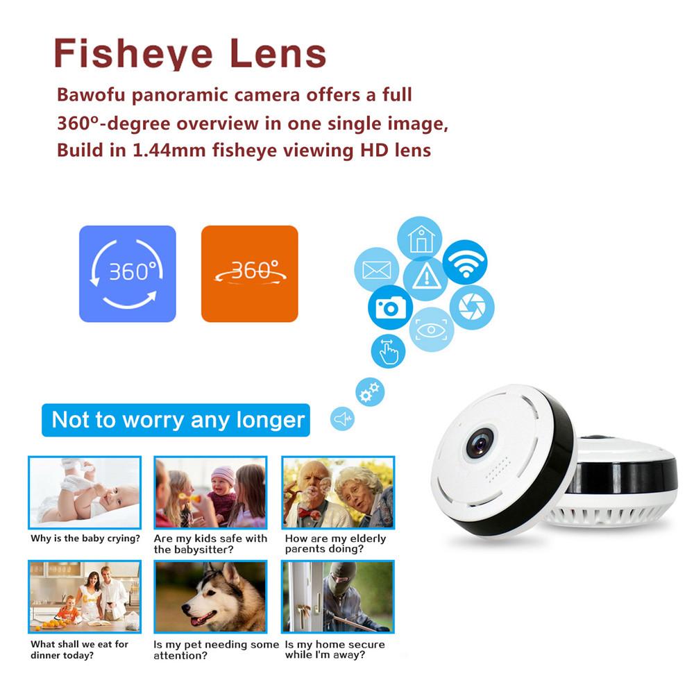 SmartEyes™- 360° Smart Home Camera