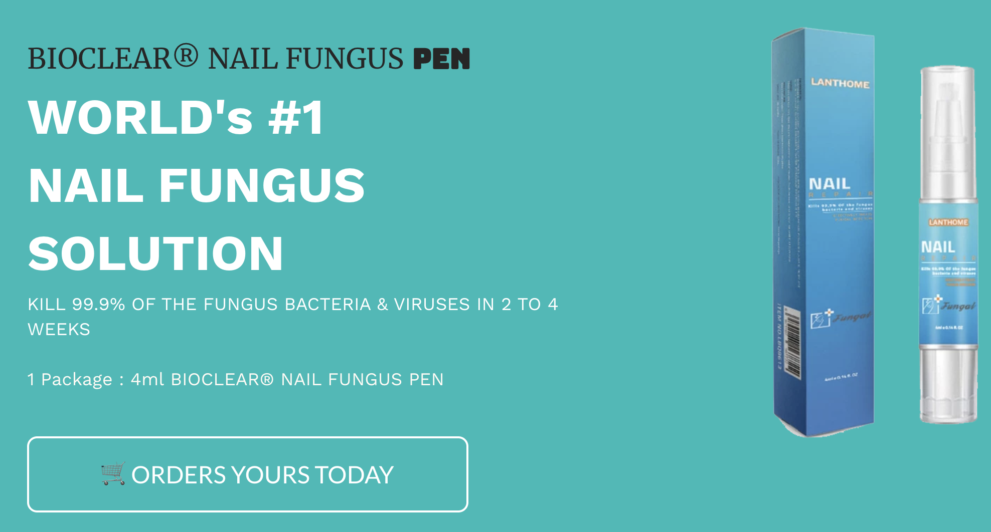 best bioclear nail pen for fungus