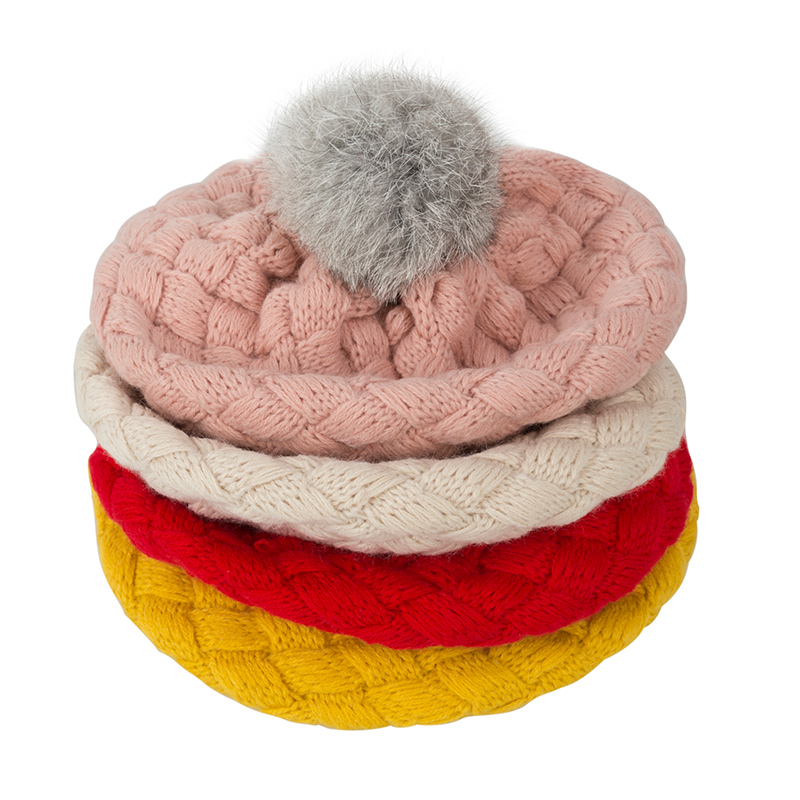 16afadeed56 MOLIXINYU 2018 New Baby Winter Hat Knit Crochet Baby Beret Girl Cap For  Children Cotton Warm Cap Cute Warm Kid Beanie Unisex
