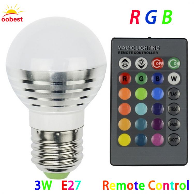 Oobest E27 Smart Rgb Rgbw Wireless Bluetooth Bulb Dimmable
