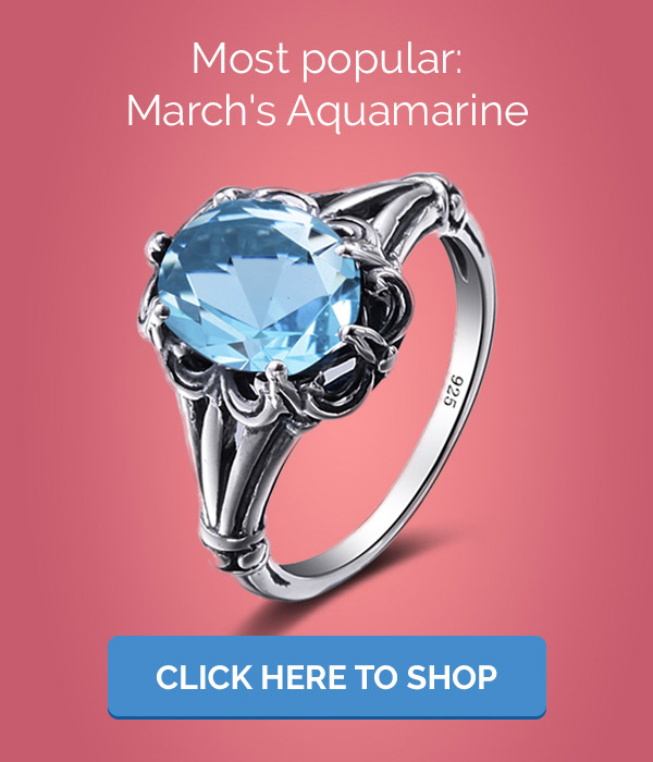 Aquamarine Rings and Jewelry