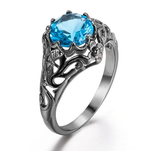Silver Lure Black (Blue Topaz)