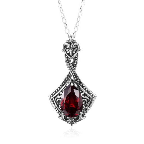 Lustful Necklace (Garnet)