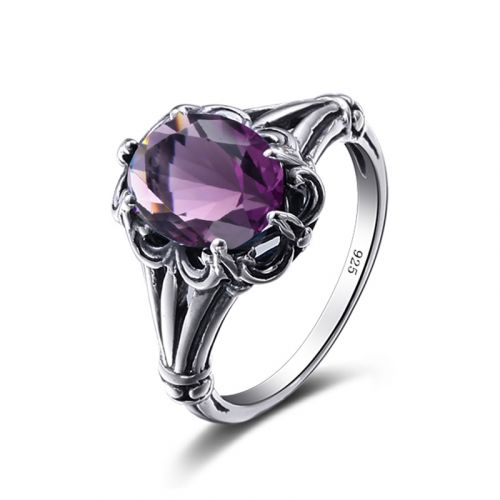 Bunched Love (Amethyst)