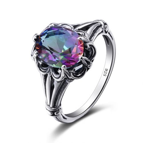 Bunched Love (Rainbow Topaz)