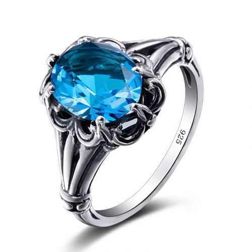 Bunched Love (Blue Topaz)
