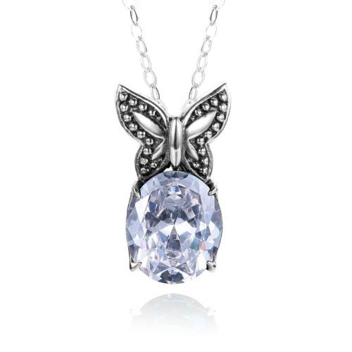 Miss Flutter Necklace (Diamond)