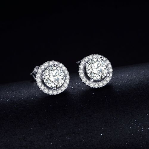 Estelle Stud Earrings (Diamond)