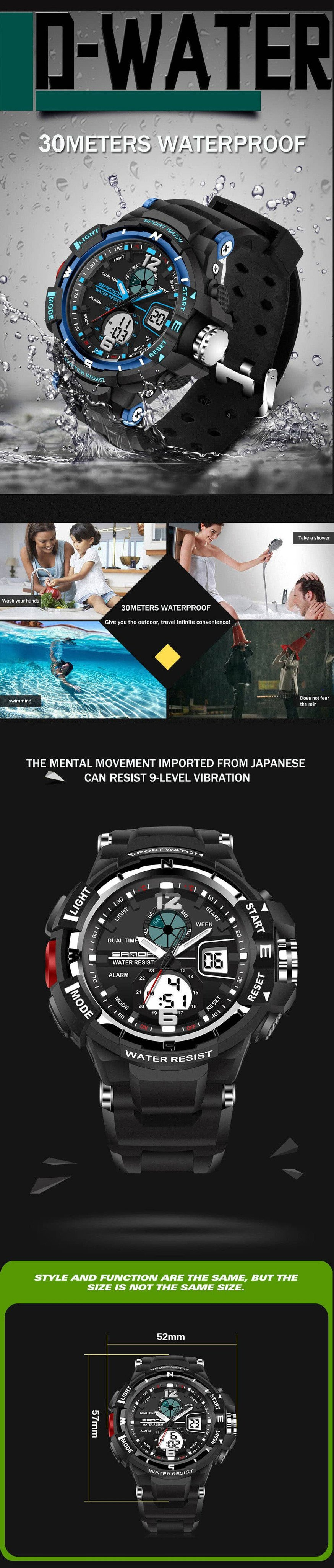 G10™ Shock Resistant Military Sport Watch