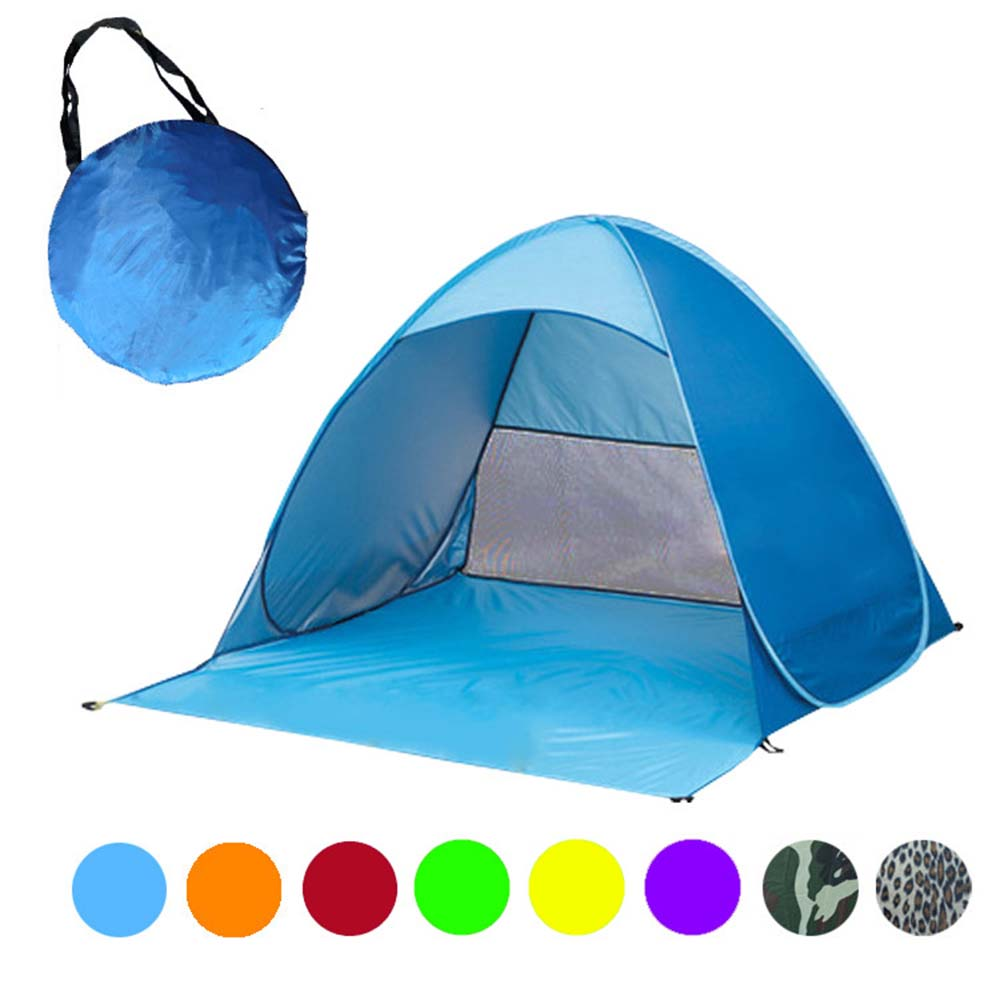 Automatically erecting C&ing Tent Pop Up Portable Beach Canopy Sun Shade Shelter  sc 1 st  Dojo Outdoor Supply & Automatically erecting Camping Tent Pop Up Portable Beach Canopy ...