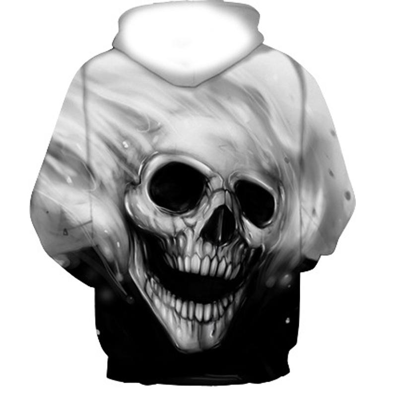 3D Skull Sweatshirt
