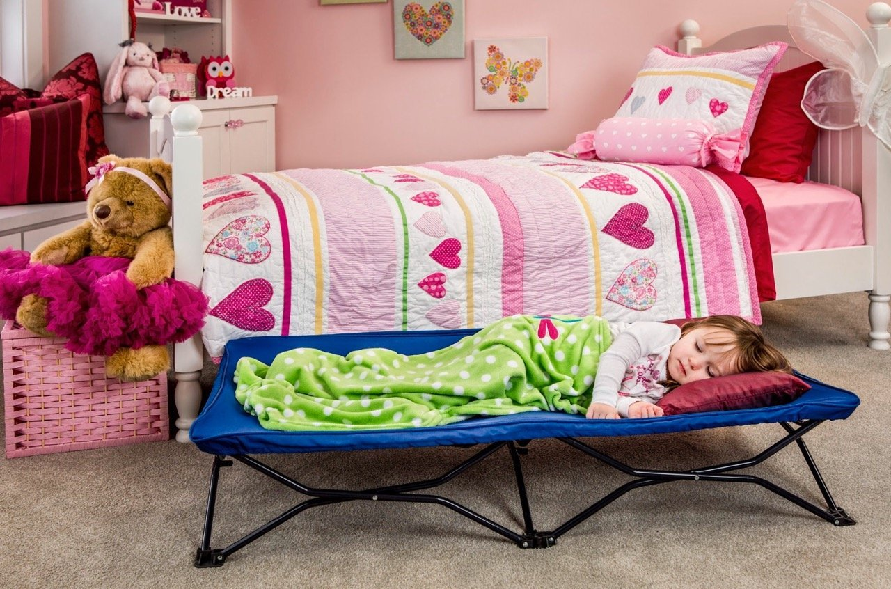 Regalo My Cot Portable Toddler Bed Includes Fitted Sheet And Travel