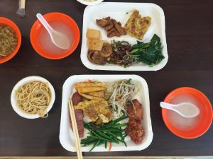 【台湾豆知識】台湾式ビュッフェ(自助餐)