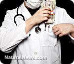 Doctor money bribe pocket