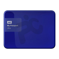 "WD®  																	Disco Externo 1TB 2.5"" USB 3.0 My Passport Ultra Azul"