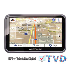 "AutoNav®  																	GPS Portátil 5,0"" 57 TVD  TV Digital"