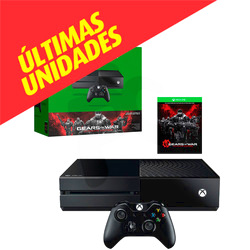 Microsoft®  																	Consola Xbox One 500GB + Gears of War: Ultimate Edition