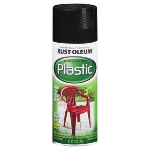 Spray Specialty Plástico Negro 340 gr          Rust-Oleum          	             0  unidades disponibles