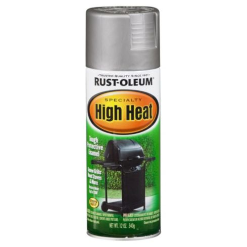 Spray Specialty Alta Temperatura Plata 340 gr          Rust-Oleum          	             16  unidades disponibles