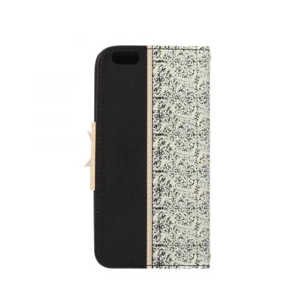 Fashion Wallet PU Flip Flower Leather Protective Case Cover with Card Holder for iPhone 6 Plus