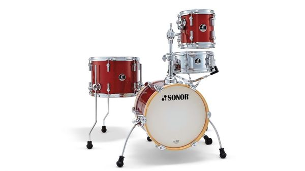 Bateria  Martini Set Shell Pack,Red galaxy sparkle (No incluye atril de caja, platillos ni sillín)