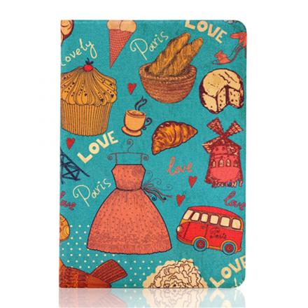Funda Protector Smart PU de Piel Cuero Protector Carcasa iPad Mini 1 2 3 - food skirt bus