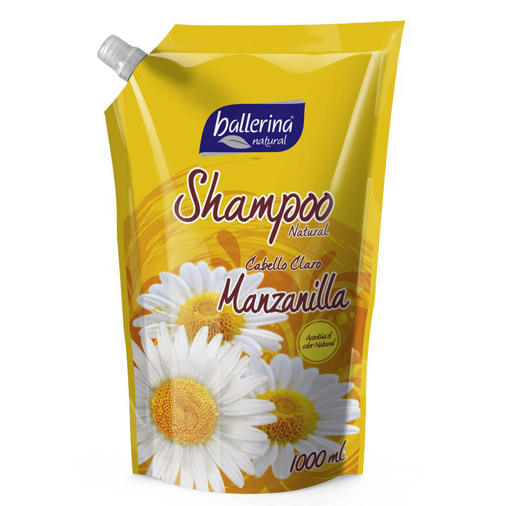 Shampoo Natural Manzanilla Doypack 1000 ml