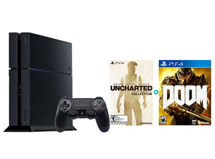 Consola PS4 500 GB + Uncharted Collection (descargable) + Juego PS4 DOOM