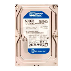 WD®  																	Disco Duro PC 500GB Blue [32 MB]