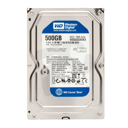 WD®  																	Disco Duro PC 500GB Blue