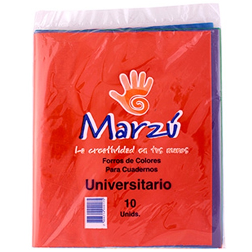 Forro Color Universitario (10 Unidades)