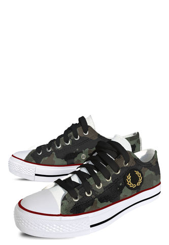Zapatilla Fashion Army Deluxe (Black Laces) Lona Persopolis