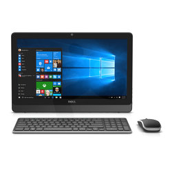 "AIO Inspiron 3052 Intel Celeron J3160 4GB 500GB 19,5"" HD Windows 10 Black"