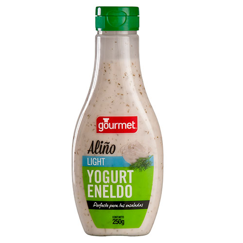 Aliño Light Yogurt Eneldo Botella 250 g