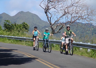 Oahu Bike & Waterfall Hike- September to May image 2