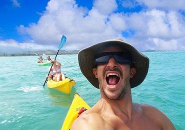 Product Self Guided Kayak Morning