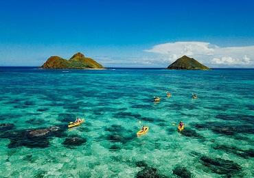 Oahu Guided Kayak Adventure  image 2