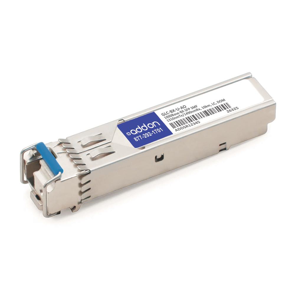 AddOn - GLC-BX-U-AO Cisco 1000Base-BX SFP Transceiver