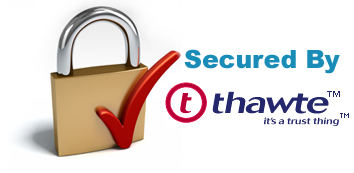 Secured By thawte™ - it's a trust thing™