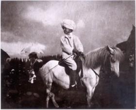 Luigi Primoli, </span><span><em>Boy on horse, India: 1905-1906</em>