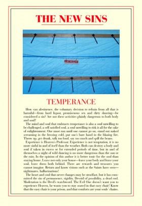 David Byrne, </span><span><em>Temperance, from the Series, The New Sins</em>