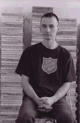 Gene Pardy, </span><span><em>Portrait of the Artist</em>, </span><span>Black and White, 8x10