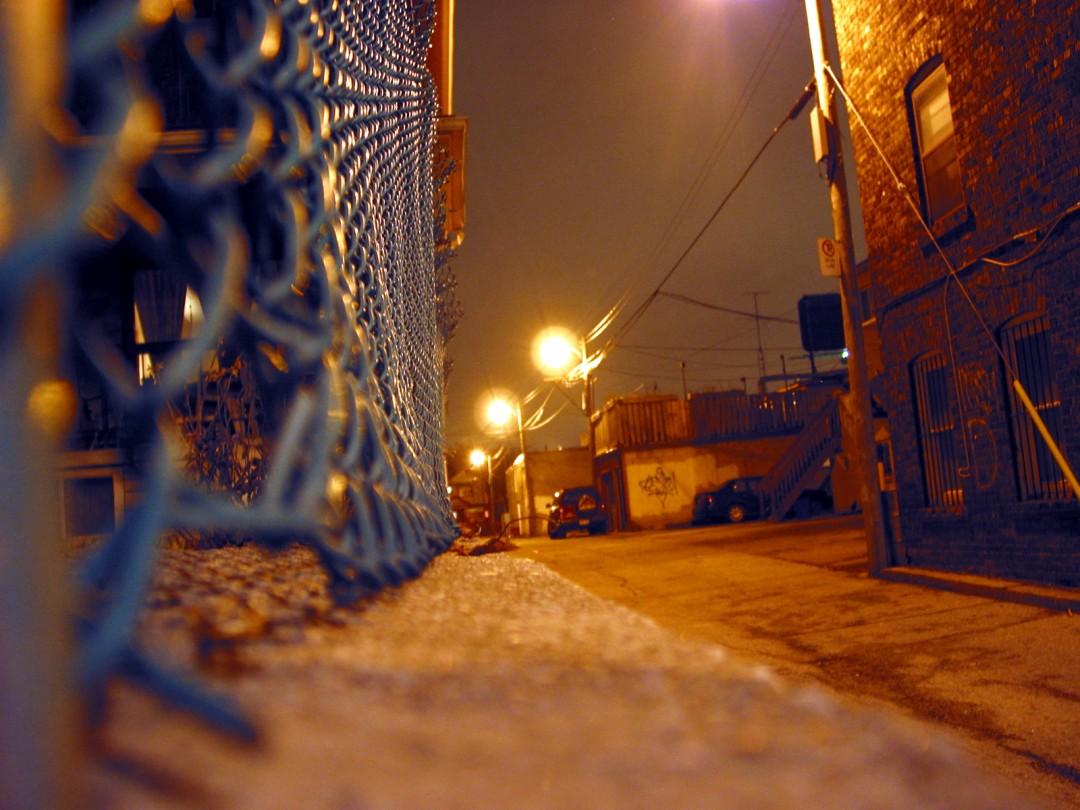Sandro Loschiavo, Dark Alley, 2006, Digitial Print  8x10