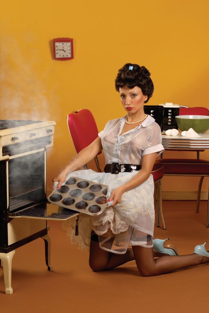 grs photo, Muffin Lady 2005