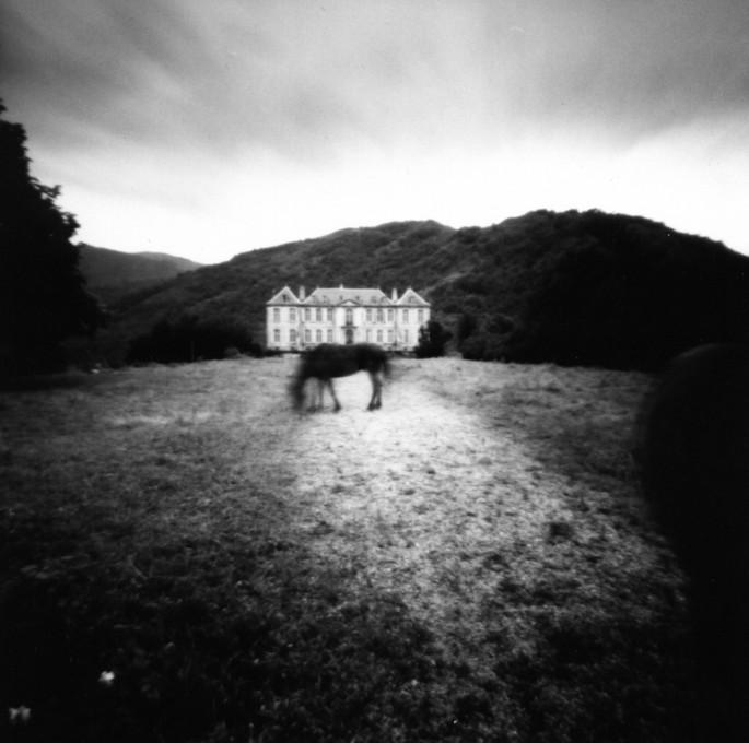 Bos, Diane, </span><span><em>Chateau de Gudanes, France, 2004</em>, </span><span>Silver gelatin print, 40