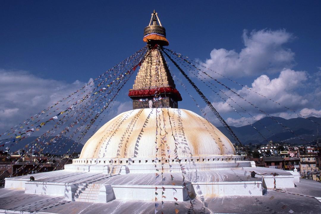 Patrick Klauss, </span><span><em>Bodhnath Stupa, Nepal</em>