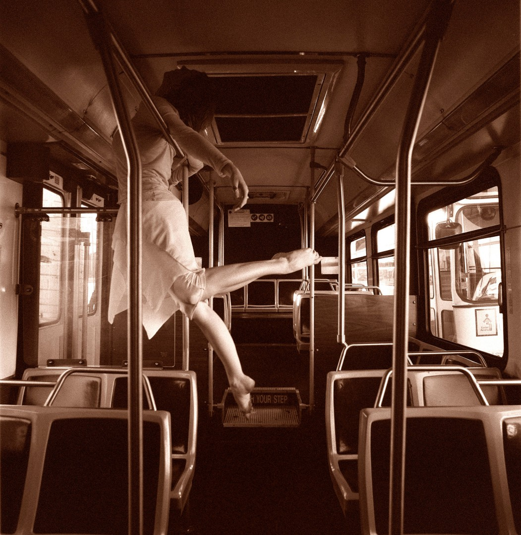 P. Marco Veltri, </span><span><em>Dancer on the Bus, 2006</em>, </span><span>20x20