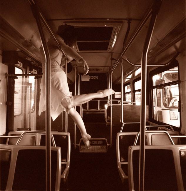 P. Marco Veltri, </span><span><em>Dancer on the Bus, 2006</em>, </span><span>20x20